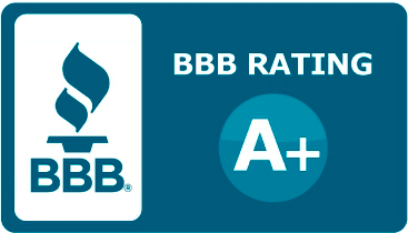 BBB A+ rating badge