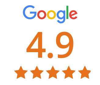 google review score 4.9 out of 5.0